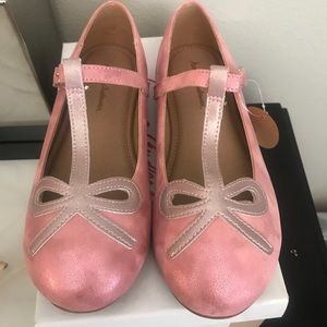 Hanna Andersson ballet style dress up shoes